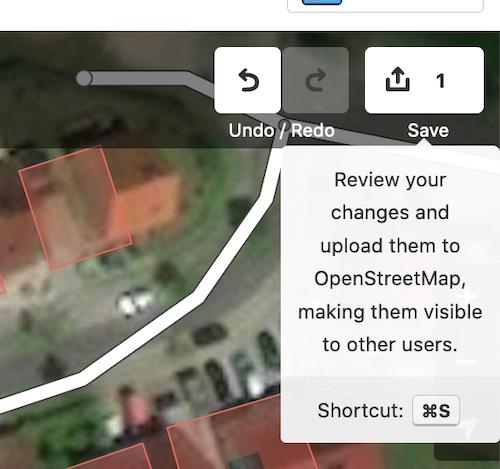 OSM edit mode